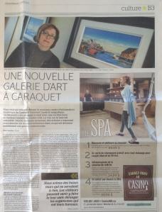 Une nouvelle galerie d'art à Caraquet